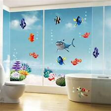 Finding Nemo Removable Vinyl Wall Sticker Ocean Bathroom Kids Decal Home DecorDC