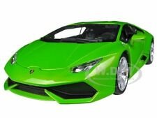 LAMBORGHINI HURACAN LP610-4 GREEN  1/18 DIECAST CAR MODEL BY BBURAGO 11038