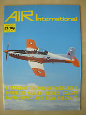 AIR INTERNATIONAL MAGAZINE AUGUST 1987 PILATUS PC-9 ROYAL AUSTRALIAN AIR FORCE
