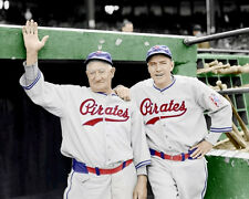 Honus Wagner Traynor Photo 8X10  Pirates 1939 COLORIZED - Buy 2 Get 1 Free