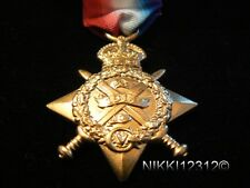 FULL SIZE BRITISH WW1 1914 MONS STAR REPLACEMENT COPY MEDAL