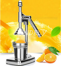 Orange presse à main commercial pro manuel agrumes citron juicer jus presse -
