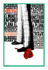 Cuban decor Graphic Design movie Poster 4 Italian film MONSTER in the Front