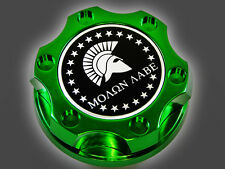 DODGE CHRYSLER VIPER MOLON LABE SPARTAN 300 HEMI BILLET ENGINE OIL CAP GREEN