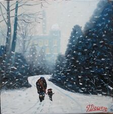 IN THE PARK original oil painting james downie