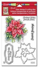 Stampendous Stamp & Die Set - Create a Poinsettia - Christmas