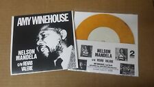 "AMY WINEHOUSE Nelson Mandela 7"" color wax 2 TONE cover SPECIALS ska soul Madness"