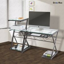 Computer Desk Corner PC Laptop Table Workstation Student Home Office Furniture
