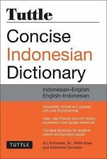 Tuttle Concise Indonesian Dictionary: Indonesian-English English-Indonesian (Tu