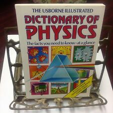 DICTIONARY OF PHYSICS, USBORNE ILLUSTRATED, COLOR, DEFINITIONS, DIAGRAMS, CHARTS