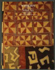 Sothebys Tribal Art November 1987 NY African Oceanic
