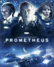 Prometheus 2012 R science fiction movie, new DVD, Ridley Scott, Rapace, Theron
