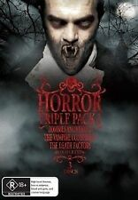 Horror Triple Pack 01 (DVD, 2009, 3-Disc Box Set) BRAND NEW and FREE POSTAGE