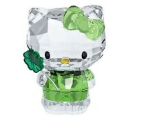 SWAROVSKI HELLO KITTY LUCKY CHARM #5004741 BRAND NIB CLOVER IRISH GOOD LUCK F/SH