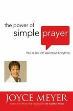 NEW HARDCOVER BOOK The Power of Simple Prayer by Joyce Meyer SMOKE-FREE HOME