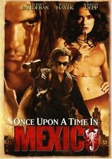 Once Upon a Time in Mexico  DVD Antonio Banderas, Salma Hayek, Johnny Depp, Will