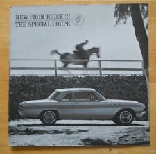 BUICK Special Coupe 1961 orig large format USA Market sales brochure