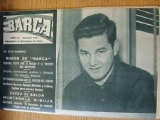 05/12/1963 Barcelona Magazine: No 419 - covers the game against Boca Juniors, an