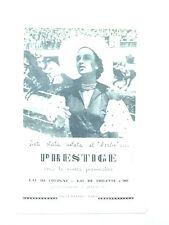 C972 - Advertising Pubblicità - 1953 -PRESTIGE EAU DE COLOGNE SAUZE FRERES PARIS