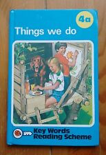 Vintage Gloss Ladybird Book Keywords Reading 4a 'Things We Do' 99p net 1989