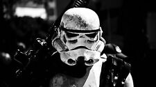"Star Wars Storm Trooper on Patrol - 42"" x 24"" LARGE WALL POSTER PRINT NEW"