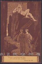 EZIO ANICHINI INFERNO DIVINA COMMEDIA Divine Comedy DANTE DANTESCA Cartolina 16