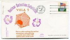 1969 Nuclear Detection Satellites Vela5 Orbit Nuclear Detonations Cape Canaveral