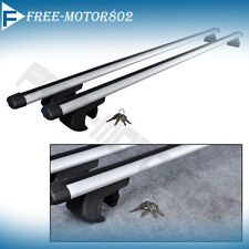 53 Inch Universal Car Aluminum Roof Top Rail Rack Cross Bars Luggage Carrier