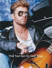 "Pop Star George Michael Hand Signed Autograph Reprint 8x10"" Photo Picture Print"