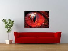 DRAGON GOTHIC RED EYE CLOSE UP PUPIL GIANT ART PRINT PANEL POSTER NOR0620