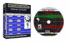 DJ MUSIC PRO AUDIO EDITOR SOUND RECORD ENHANCE MIXER SUITE + EXTRAS