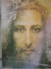 1 - JESUS SHROUD OF TURIN IMAGE PICTURE PRAYER HOLY CARD DEVOTIONAL CHRIST ITALY