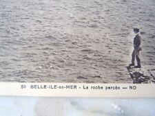 Carte postale la roche percée à Belle-île-en-Mer