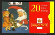 GB 1997 LX14 CHRISTMAS - 20 X 2ND CLASS BARCODE BOOKLET