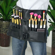 27 Pockets Professional Cosmetic Makeup Brush Apron Artist Belt Strap Bag Holder