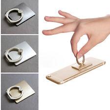 Universal 360° Fingerring Desktop Halterung Tischständer Halter Handy Grau