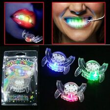 Flashing Mouth Piece Glow Teeth 1 PC LED Light up For Halloween Party Rave Event
