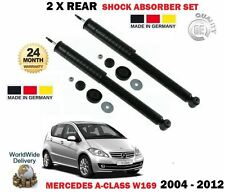 Pour Mercedes A150 A160 A170 A180 A200 Turbo 2004-2012 2X rear shock absorber set