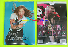 CALENDARIO 2014 AVRIL LAVIGNE SEALED sigillato cd dvd lp mc tour live