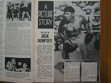 November,  1962   Ring   Magazine  (JACK  DEMPSEY(9 PAGES OF PHOTOS)SONNY LISTON