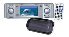 In-Dash Marine Multimedia Disc Receiver with 3'' Built In Monitor