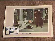 MURDER INC 1960 LOBBY CARD #5 MAFIA CRIME