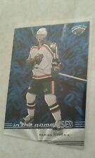 2002-03 ITG In The Game Used Base Card (Only 300) Marian Gaborik Card 38 Etched