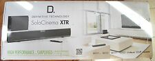 Definitive Technology DefTech SoloCinema XTR Home Theater Sound Bar System NEW!