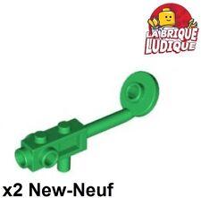 Lego - 2x Minifig utensil metal detector detecteur vert/green 4479 NEUF