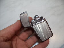 ZIPPO LIGHTER FEUERZEUG BLU CHANNELED A GAS BUTANO RICARICABILE NEW