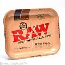 "RAW Brand Metal Rolling Tray Large 11"" x 13"""