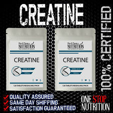 CREATINE MONOHYDRATE  1000MG X 120 TABLETS  PRE WORKOUT  CAPSULES / FAST SHIP