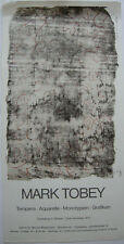 Mark Tobey G. (1890-1976) MANIFESTO Galleria Biedermann ORIG litografico 1973