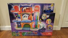 NEW PJ Masks Headquarters Playset with Catboy Figure & Cat Car Vehicle, IN HAND